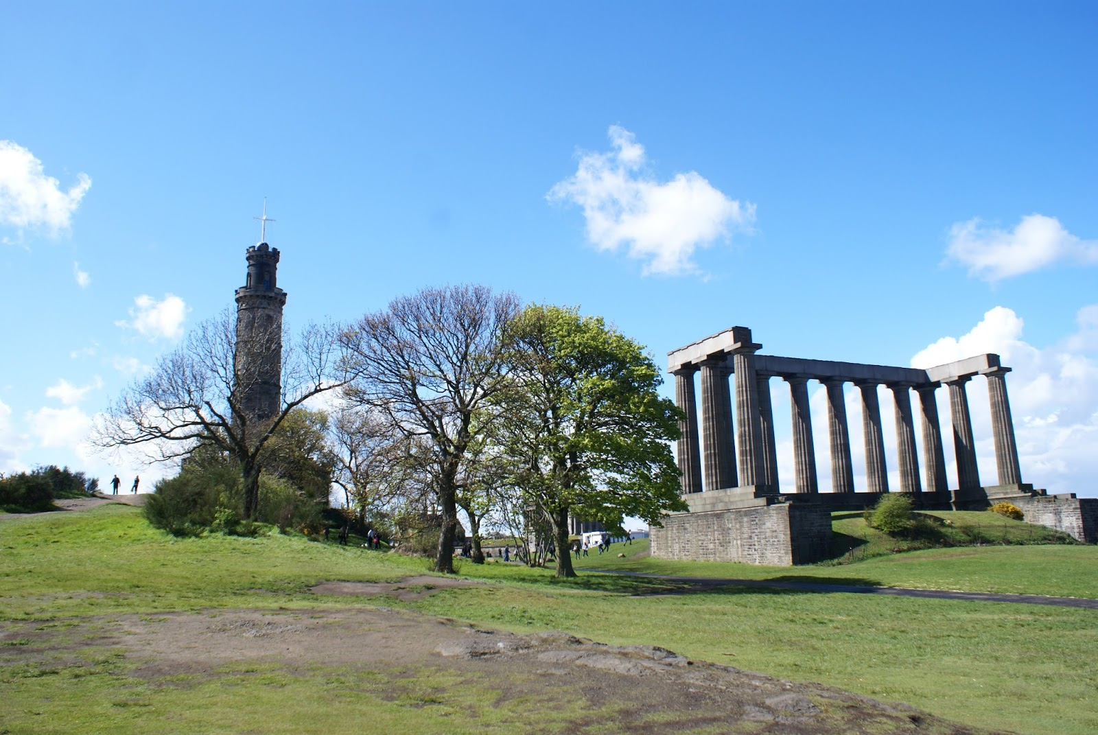 edinburgh calton hill scotland uk