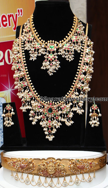 Guttapusalu Sets Waistbelt by Manepally Jewellers