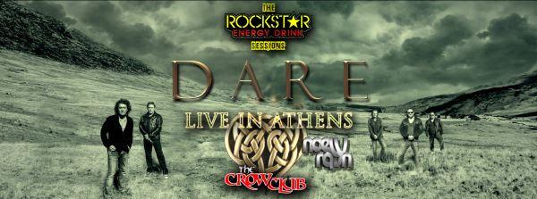 DARE: Οι τελευταίες λεπτομέρειες για το live στο The Crow Club