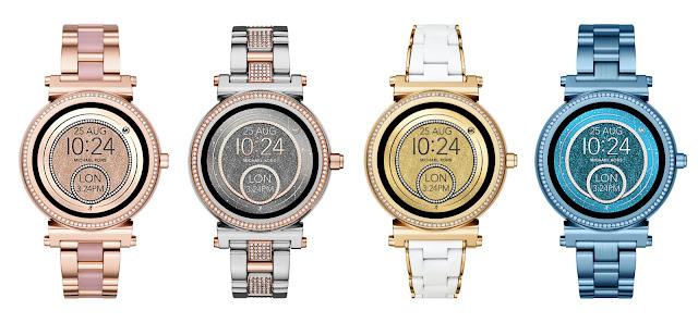 Sofie smartwatch model for women