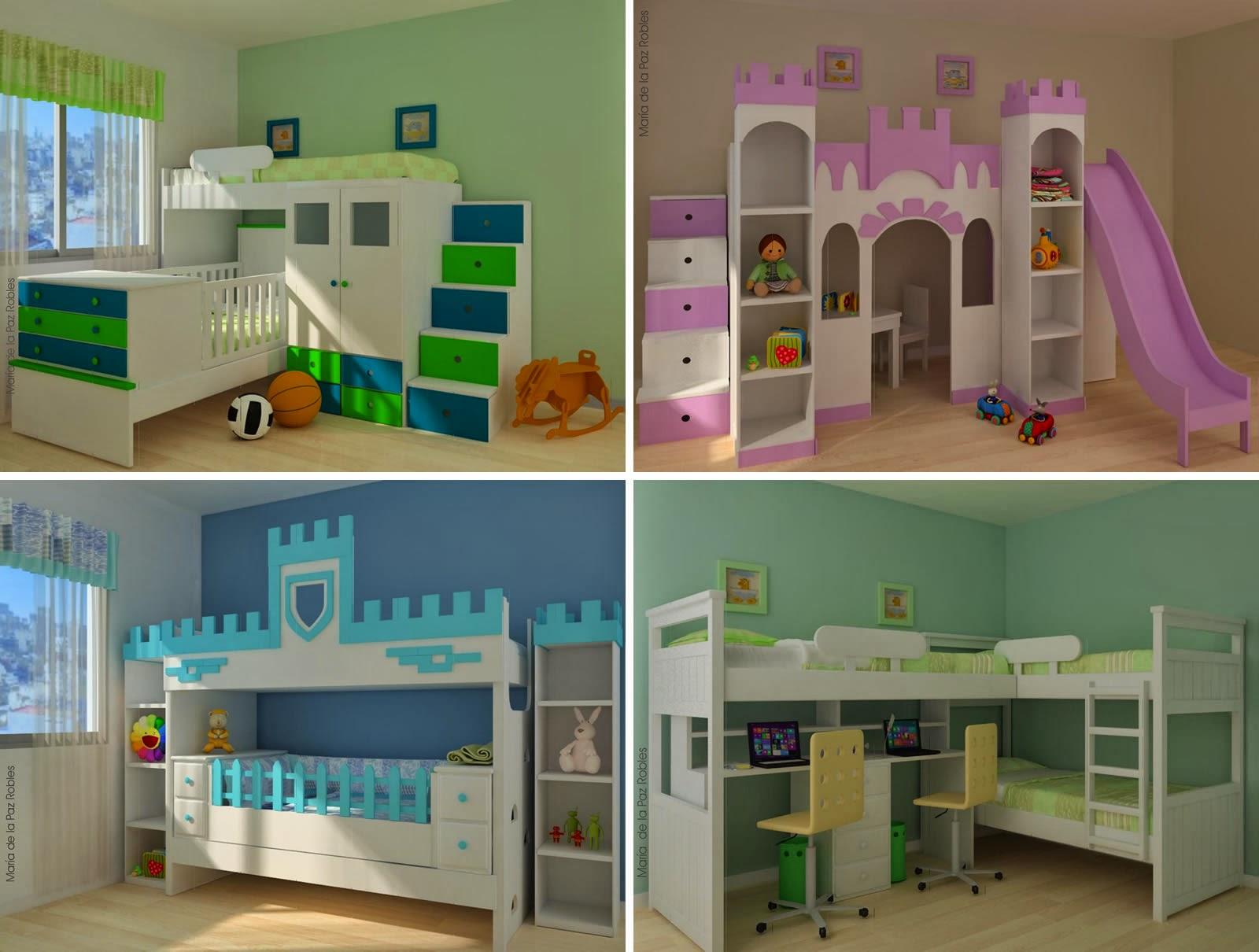 Verde lim n amoblamientos infantiles m s chicos - Muebles para juguetes infantiles ...