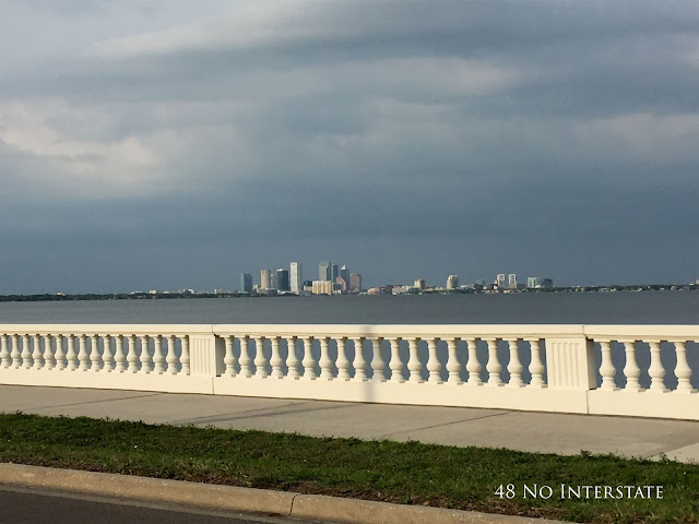 48 No Interstate back roads cross country coast-to-coast road trip Tampa, Florida