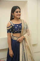 Niveda Thomas in Lovely Blue Cold Shoulder Ghagra Choli Transparent Chunni ~  Exclusive Celebrities Galleries 040.JPG