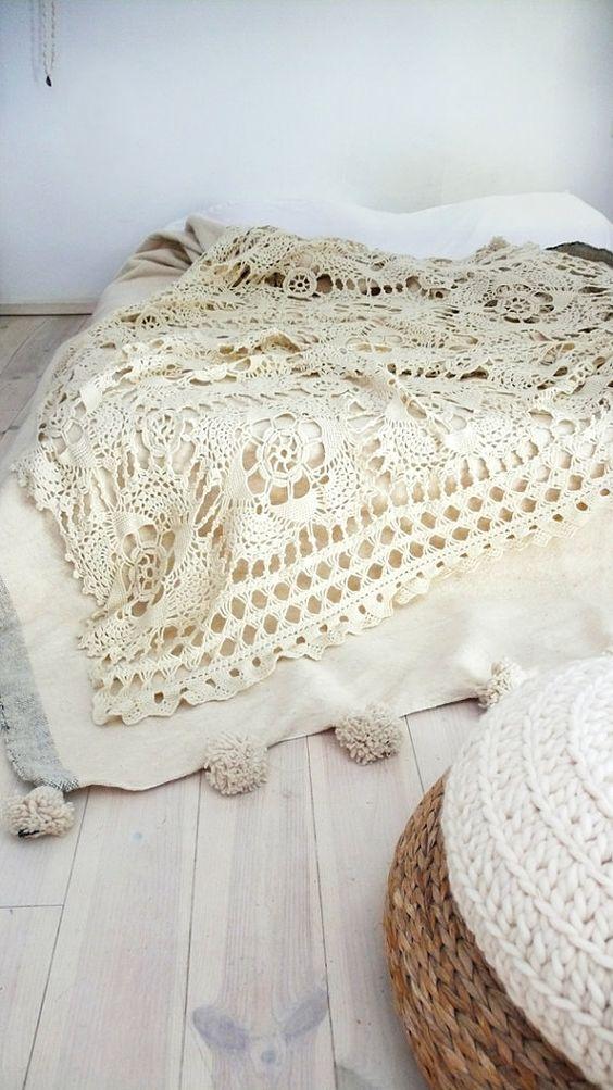 Mar a cielo crochet inspiraci n colcha for Universo del hogar