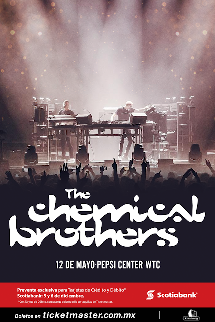 THE CHEMICAL BROTHERS EN PEPSI CENTER
