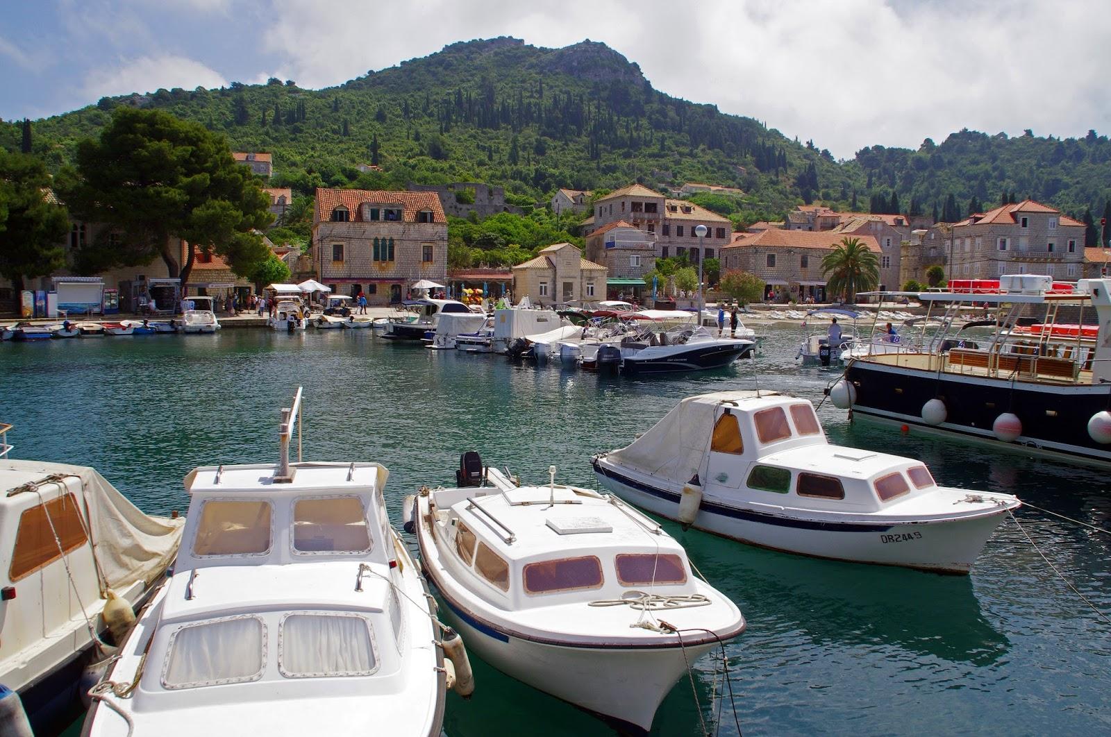 Charming Lopud Island off Dubrovnik