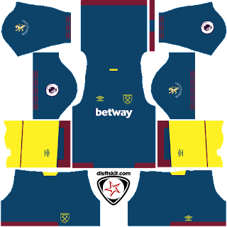 West Ham United FC 2018 - 2019 Away Kit