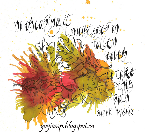 http://yogiemp.com/Calligraphy/Artwork/NoEscapingIt&TrueMagic.html