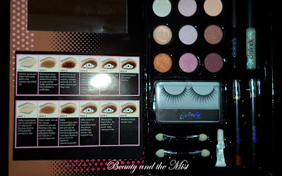Claire's cosmetics natural eye book