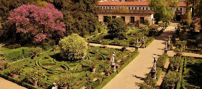 The gardens of the Palazzo Corsini di Prato, Florence