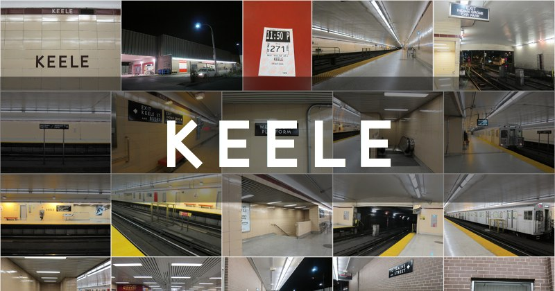Photo gallery for Keele subway station