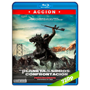 El planeta de los simios: Confrontación (2014) BRRip 720p Audio Dual Latino-Ingles