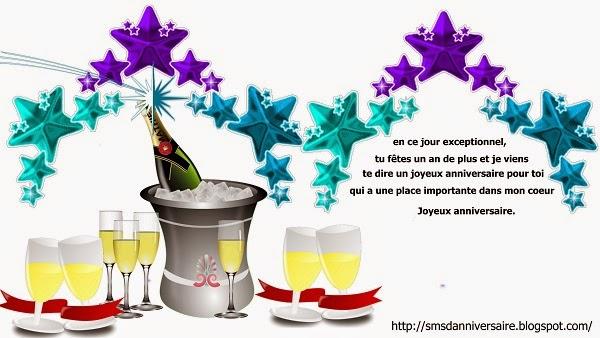 texte joyeux anniversaire en francais
