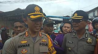Kapolresta Pontianak Kota Minta Warga Buat Sumur Bor di Dalam Gang