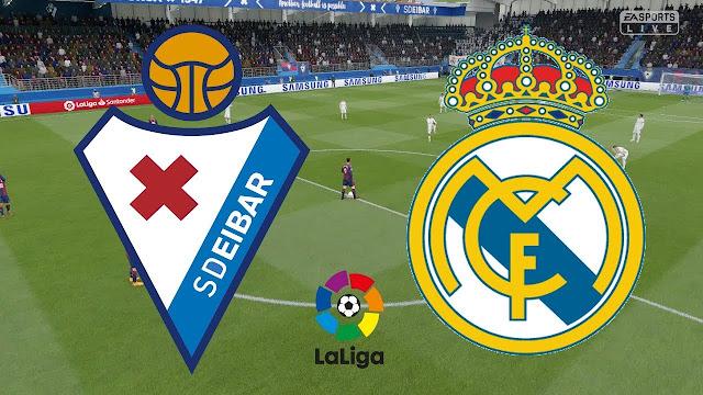 موعد مباراة ريال مدريد وايبار بث مباشر بتاريخ 14-06-2020 الدوري الاسباني