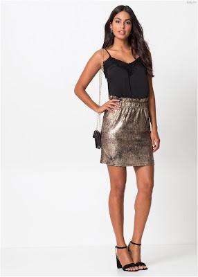 Faldas cortas de moda juvenil