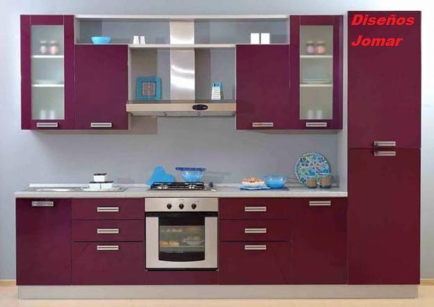 Dise os jomar cocinas for Cocinas integrales para casas chiquitas