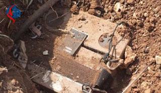 حزب الله اللبناني يعثر على جهاز تجسس اسرائيلي بكاميرا حرارية على الحدود !