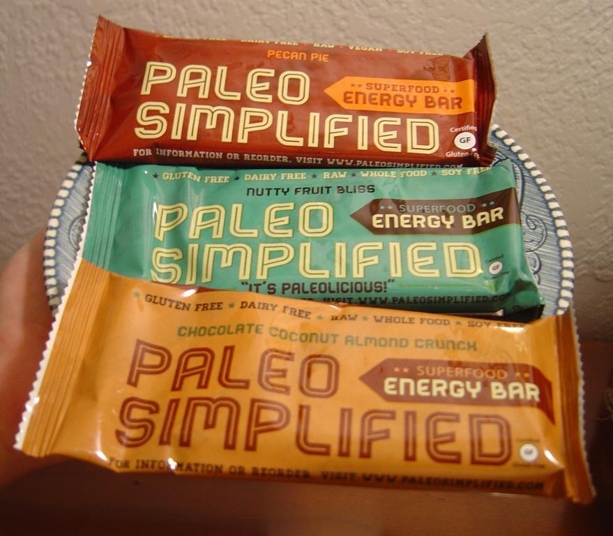 Paleo Simplified Pecan Pie Superfood Raw Energy Bar, Nutty Fruit Bliss Bar, and Chocolate Coconut Almond Bar.jpeg