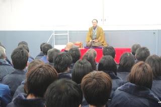三遊亭楽春講演会「笑いの効果でメンタルヘルス」