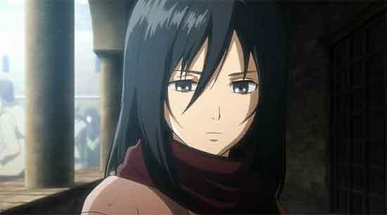 Gambar karakter anime wanita tercantik - Mikasa Ackerman (Shingeki no kyojin)