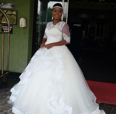 Photos From Benita Okojie's White Wedding