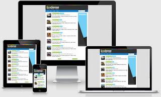 Download Template BroSense Gratis