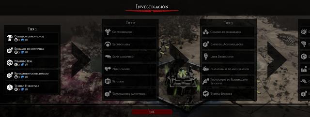 investigació Necrones