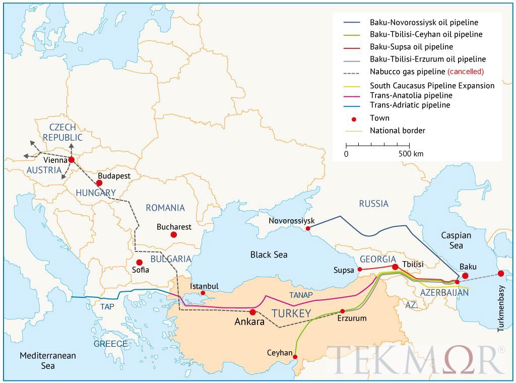 TEKMOR Monitor: Southern Gas Corridor remains priority for