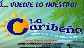 Caribeña Dia lunes 10 de diciembre 2018