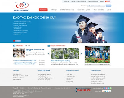 Thiết kế website giáo dục mở ra một niềm tin mới cho khách hàng