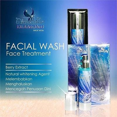 Facial wash face treatment aura glow diamond series