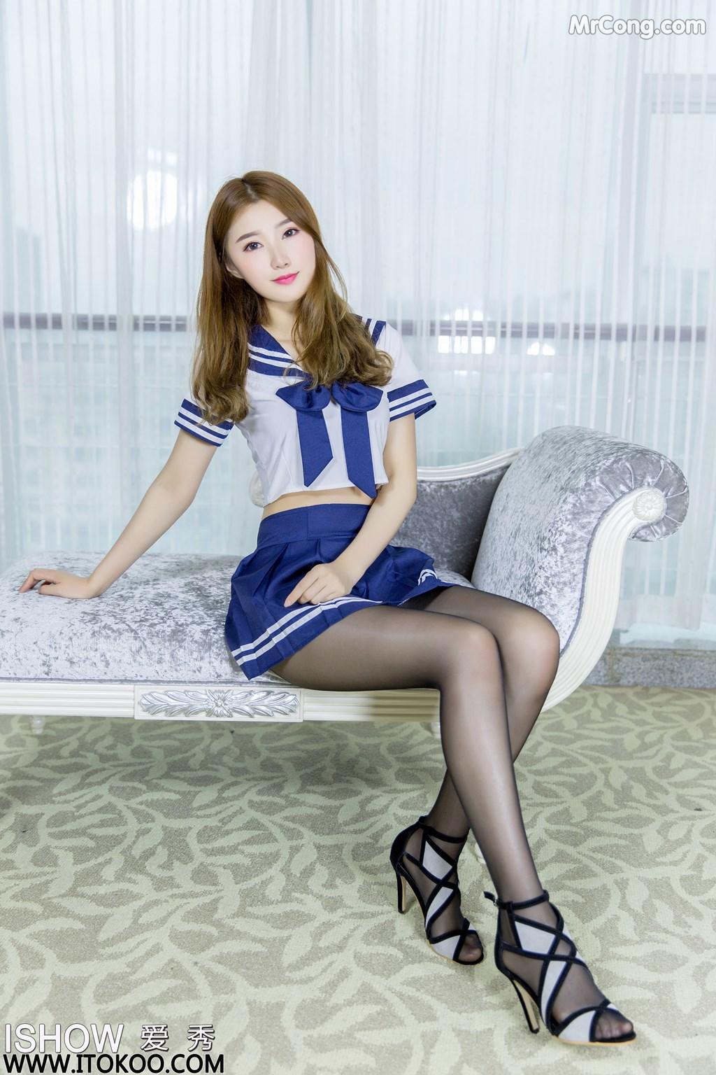Image ISHOW-No.154-Zhou-Xiao-Bai-MrCong.com-007 in post ISHOW No.154: Người mẫu Zhou Xiao Bai (周小白) (31 ảnh)