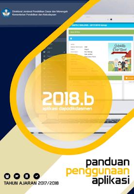 Informasi Rilis Pembaruan Aplikasi Dapodikdasmen Versi 2018.b