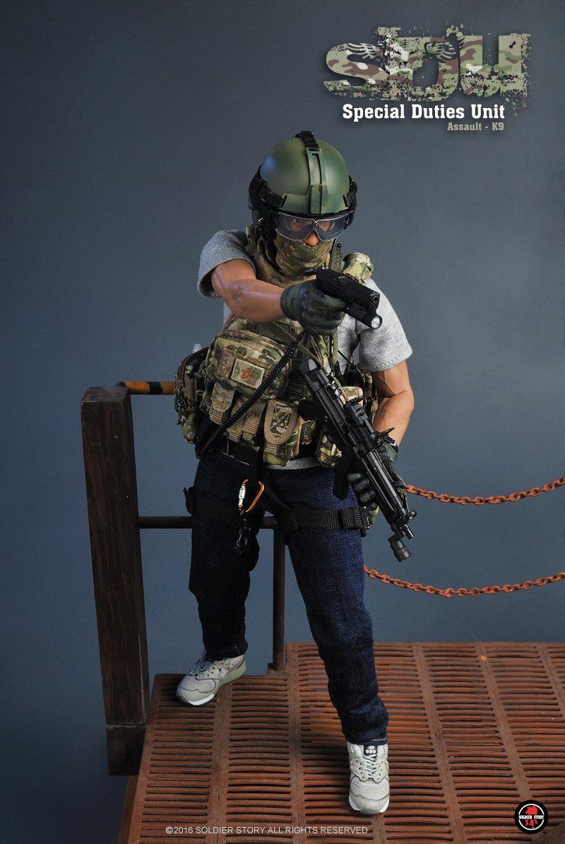 1//6 Scale Special Duties Unit Assaulter Hong Kong Assaulter Climbing Harness