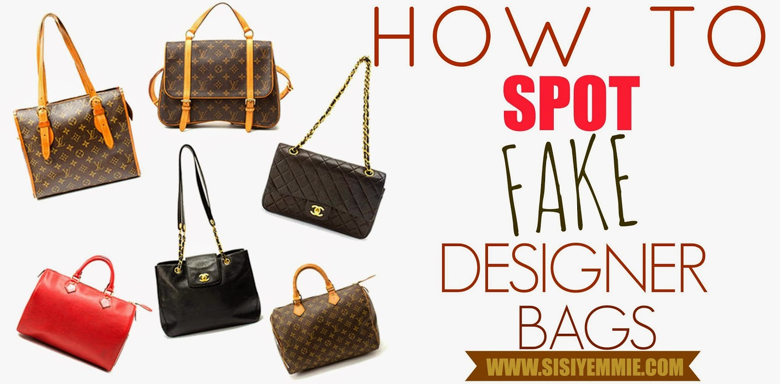 FAKE DESIGNER BAG  4 WAYS TO SPOT ONE! - SISIYEMMIE  Nigerian Food ... d03964bb09f4a