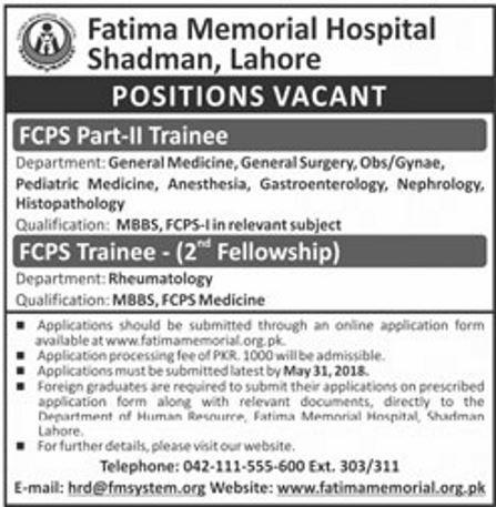 FMH jobs