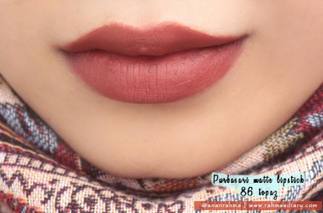 Purbasari Matte Lipstick 86
