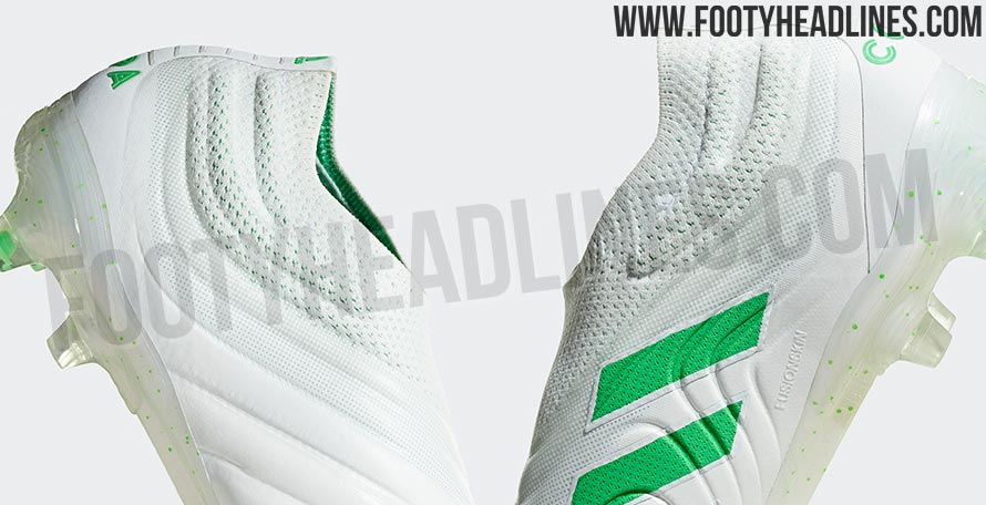 86dacd7a8644f8 White   Bright Green Adidas Copa 19+  Virtuso  Boots Leaked