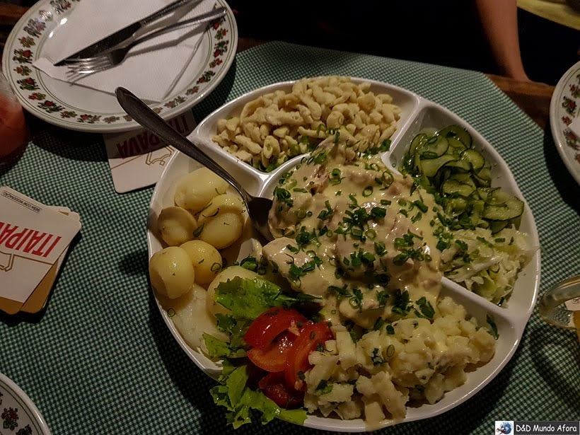 Almoço no Bar do Alemão - Encontro da RBBV em Curitiba
