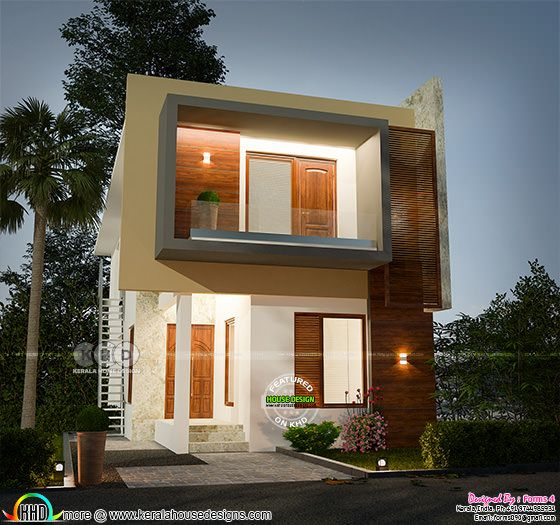 Below 25 lakhs cost estimated home plan in 3 cent plot