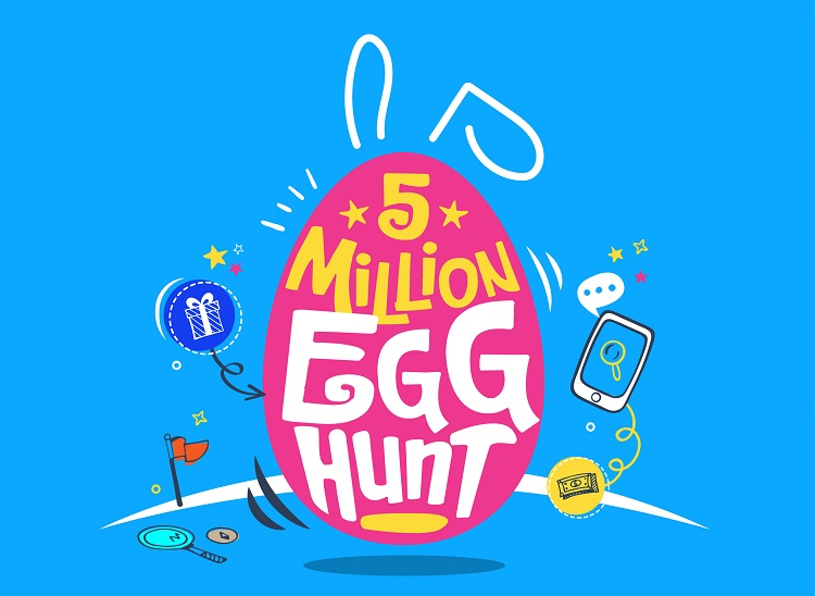 GCash Is Giving Away Php5 Million in Prizes with Easter Egg Hunt Promo