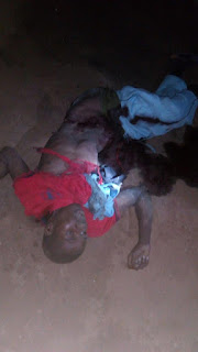 Graphic: Two suicide bombers killed during mosque attack in Bama, Borno State