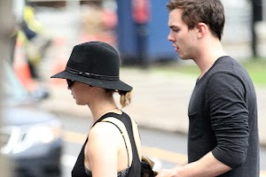 Jennifer Lawrence and Nicholas Hoult: walk around Montreal