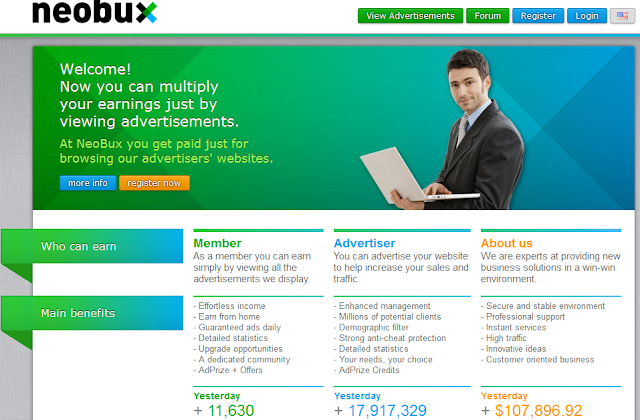 Make Money With Neobux Alteast 200 to 500$ per Month
