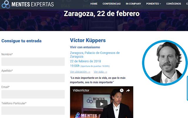 http://mentesexpertas.com/conferencia-victor-kuppers-zaragoza-22-febrero-2018/