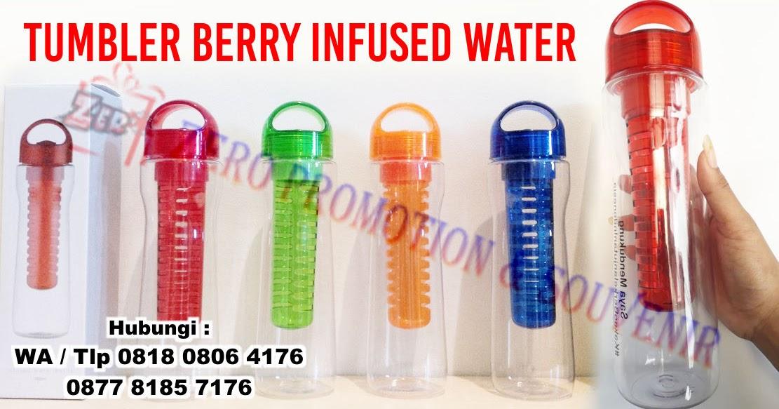 Jual Tumbler promosi Infused Water - souvenir botol minum