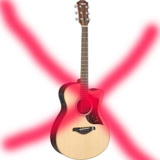 Belajar bermain Gitar Tidak harus memiliki gitar