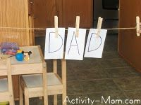 Clothes Pins Activities