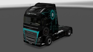 Hi-Tech Skin for Volvo 2012